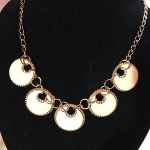 Wonderful winsome white wearable necklace